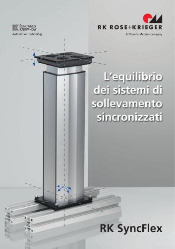 RK SyncFlex - L'equilibrio dei sistemi di sollevament sincronizzati