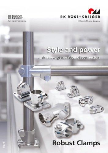 Robust Clamps - Système d´assemblage de tubes en acier haute qualité