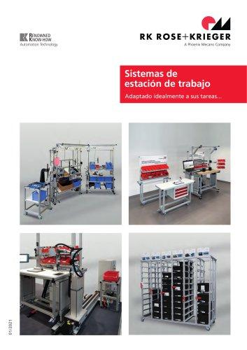 Sistemi per postazioni di lavoro / Sistemi di assistenza