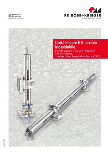 Unità lineari E-II-stainless