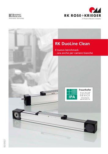 Unità lineari RK DuoLine Clean