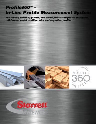 Profile360? - In-Line Profile Measurement System