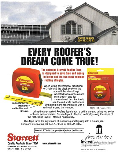 ROOFING TAPE