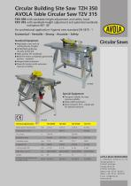bench saw and building site saw