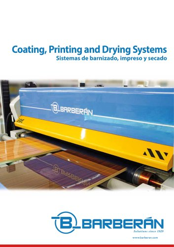 Coating, Printing and Drying Systems