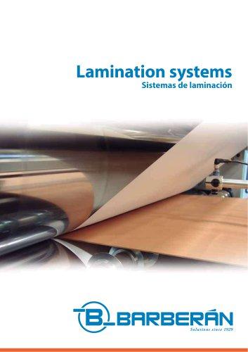 Lamination systems