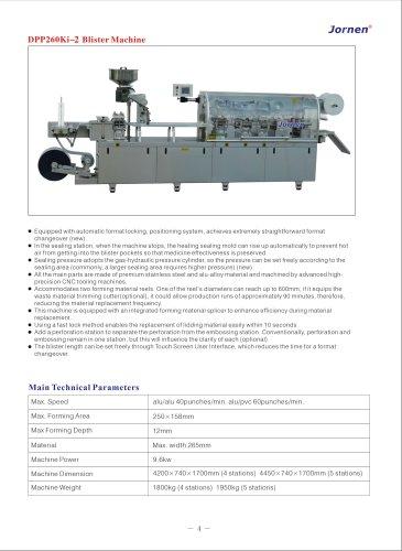DPP260Ki-2 Blister Machine
