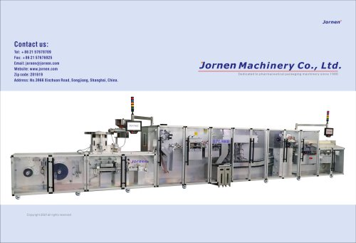 Jornen Machinery Home Page