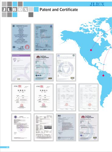 Patent and Certificate