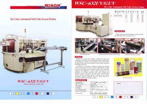 SCREEN PRINTING MACHINE WSC-632UV-GUV