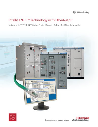 IntelliCENTER Technology with EtherNet/IP