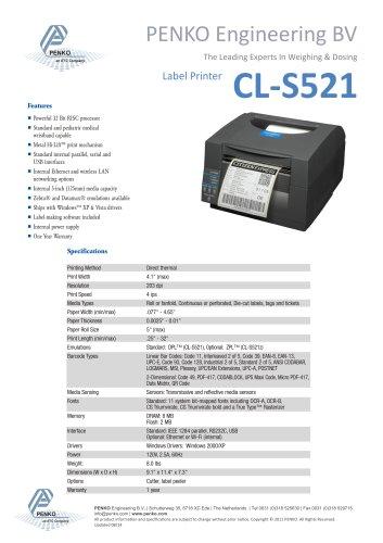 Printer Label Desktop CLP-521