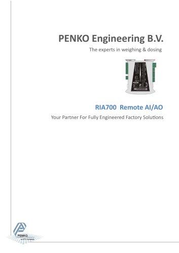 RIA700 Remote Analog I/O