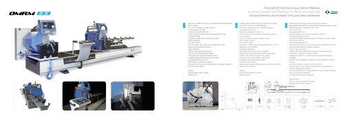 Automatic Double Head Aluminium Profile Cutting Machine OMRM 133