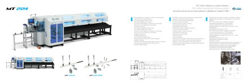PVC Profile Screwing and Processing Center MT 224