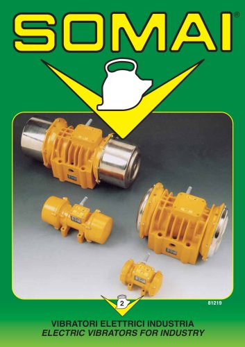 ELECTRIC VIBRATORS FOR INDUSTRY