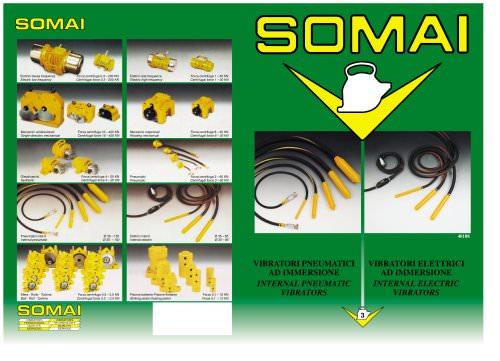 SOMAI - Internal electric vibrators