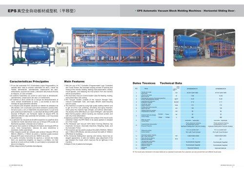 Zhongji EPS Automatic Block Molding Machine(Horizontal Sliding Door) With CE