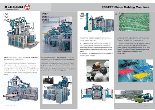 Zhongji EPS/EPP Shape Molding Machine With CE