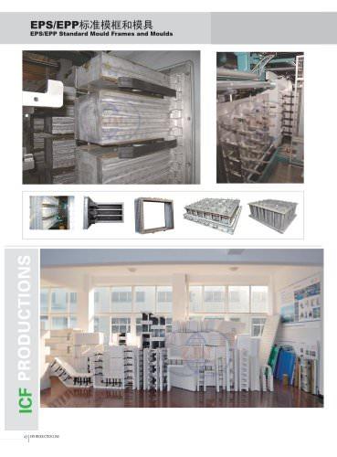 Zhongji EPS/EPP Standard Mould Frames and Moulds
