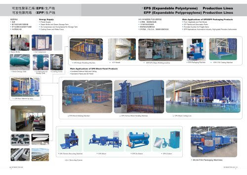 Zhongji EPS(Expandable Polystyrene)/EPP Production Lines With CE