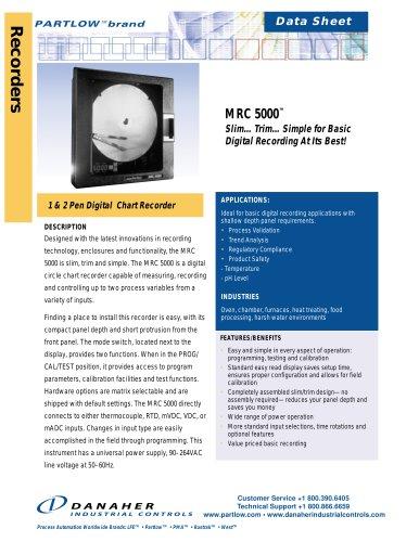 PARTLOW-MRC-5000