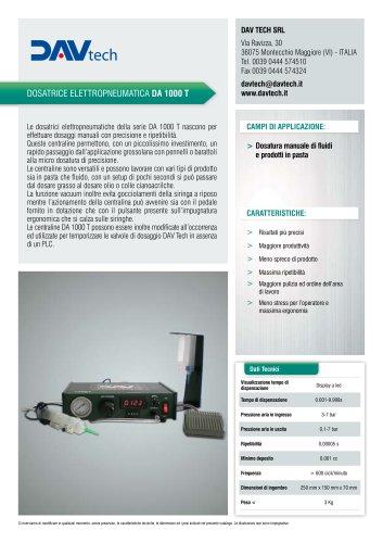 Dosatore elettropneumatico DA 1000 T