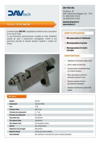 Valvola di dosaggio spray DAS 90