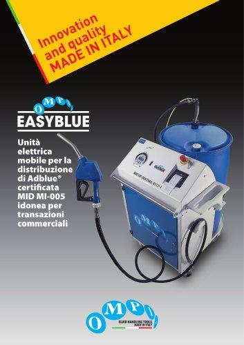 Unità elettrica mobile per la distribuzione di Adblue® certificata MID MI-005
