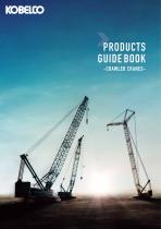 PRODUCTS GUIDE BOOK -CRAWLER CRANES