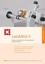Calo Tester kaloMAX II