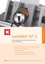 Calo Tester kaloMAX NT II