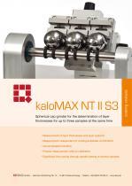 Calo Tester kaloMAX NT II S3