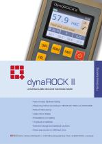 Leeb Hardness Tester dynaROCK II