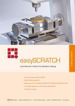 Scratch Tester easySCRATCH