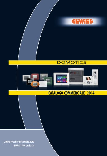 Catalogo Commerciale Domotics 2014