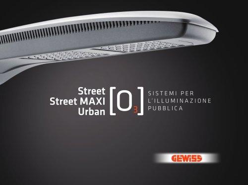 Street, Street MAXI e Urban [O3]