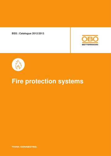 BSS. Fire protection systems