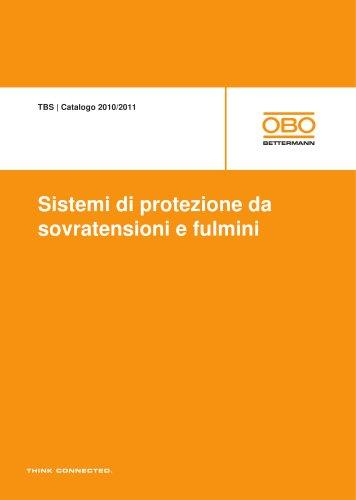 Sistemi di protezione da sovratensioni e fulmini TBS