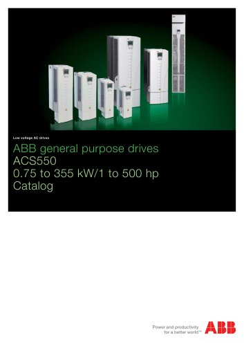 ACS550, catalog