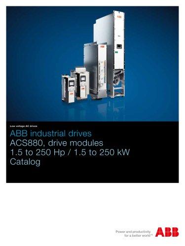ACS880 multidrive modules, 1.5 to 250 HP Catalog
