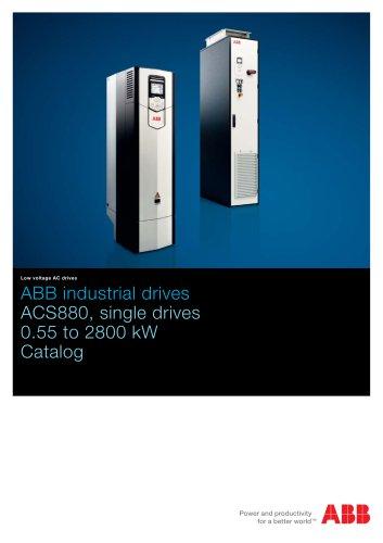 ACS880 single drives, catalog