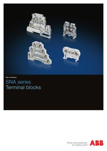 SNA series Terminal blocks
