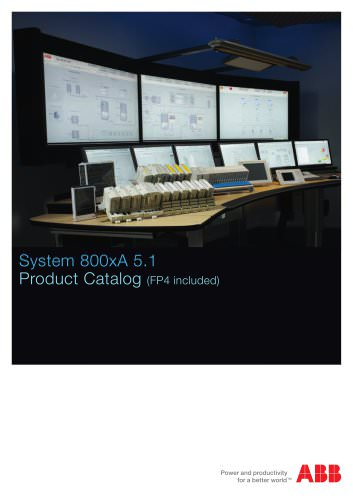 System 800xA 5.1 Product Catalog