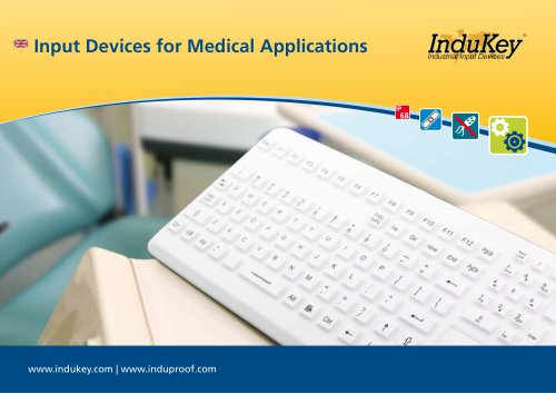 Input Devices For Medical Applications