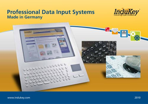 Professional Data Input Systems - Made in Germany