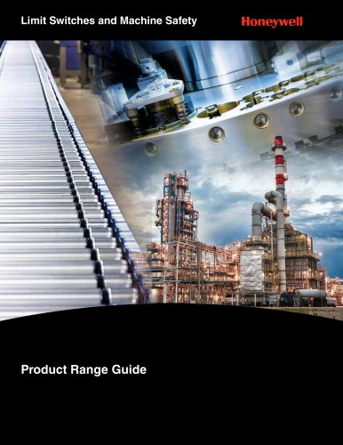 Honeywell MICRO SWITCH Limit and Safety Switch Range Guide