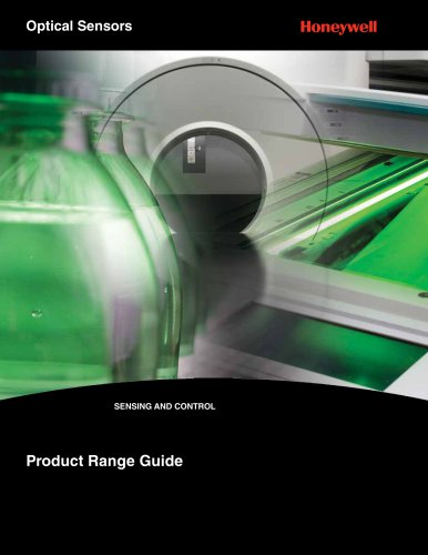 Honeywell Optical Sensor Range Guide
