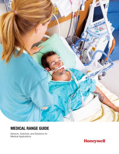 Honeywell Sensors and Switches for Medical Equipment Applications