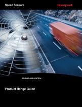 Honeywell Speed Sensor Range Guide